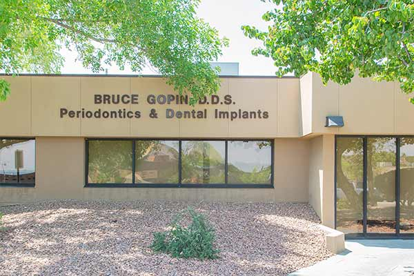 Bruce Gopin, DDS, MS Office Entrance